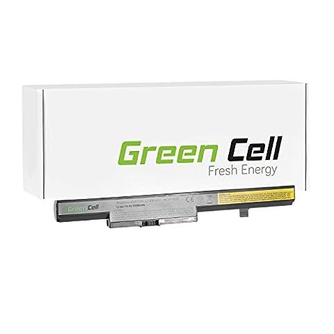 Green Cell® Standard Series Battery for Lenovo B50-80 Laptop (4 Cells 2200mAh 14.4V Black)