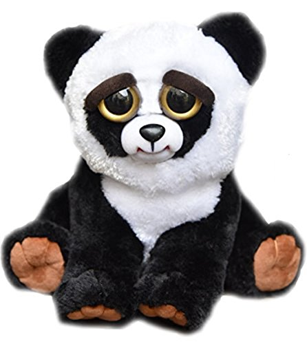 feisty-pets-by-william-mark-black-belt-bobby-adorable-215cm-plush-stuffed-panda-that-turns-feisty-wi