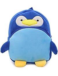 Winbang Schultasche, Cartoon-Kind-Jungen-M?dchen-Pl¨¹sch-Rucks?Cke Nette Kinder Schultaschen, Pinguin Blau preisvergleich bei kinderzimmerdekopreise.eu