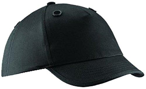 Beechfield–Bump Cap, taglia unica Black Taglia unica Black