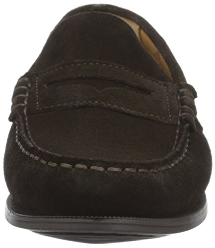 Sebago Plaza II, Mocassini Donna Marrone (Brown Suede)