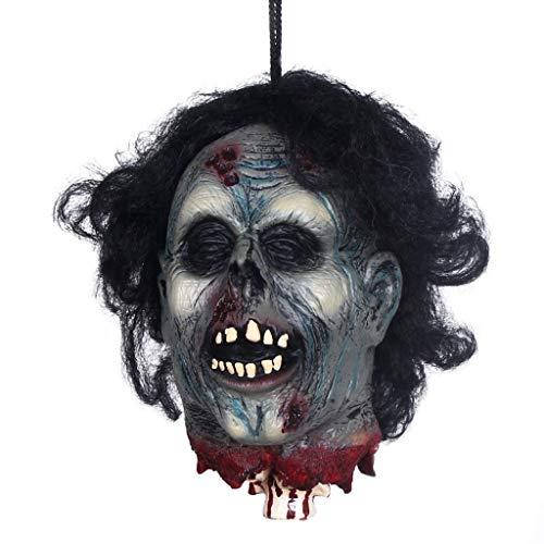 Halloween Horror Geköpft Latex Requisiten Room Escape Spukhaus Bar Tricky Scary Dekoration Requisiten Halloween Party Indoor Requisiten und Cosplay Dekoration (größe : X18101)