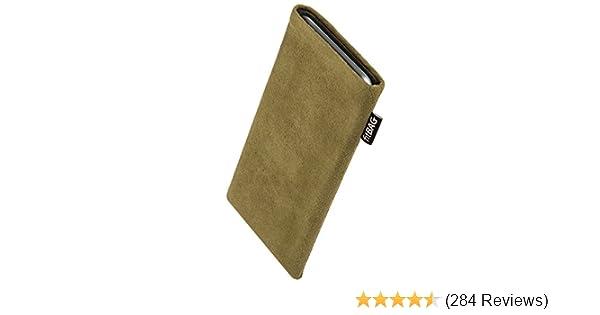 5s SE 16GB 32GB 64GB fitBAG Classic Weinrot Handytasche Tasche aus original Alcantara mit Microfaserinnenfutter f/ür Apple iPhone 5 H/ülle mit Reinigungsfunktion Made in Germany