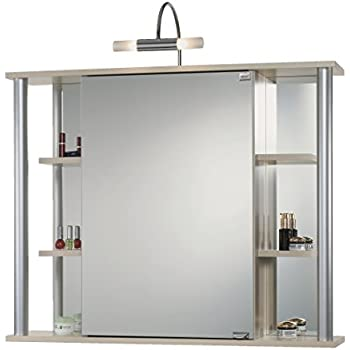 Jokey spiegelschrank biella ahorn elektronik for Amazon spiegelschrank