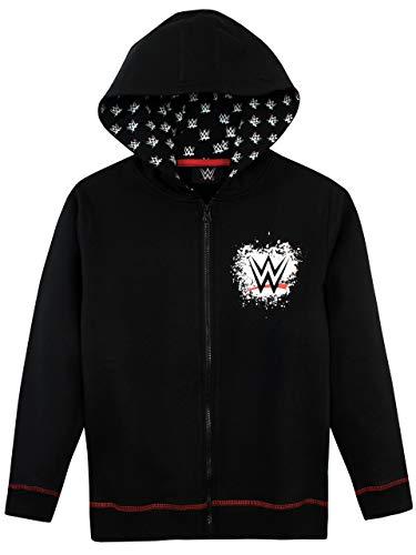 WWE Jungen World Wrestling Entertainment Hoodie Schwarz 146 (Ring Wrestling Wwe)