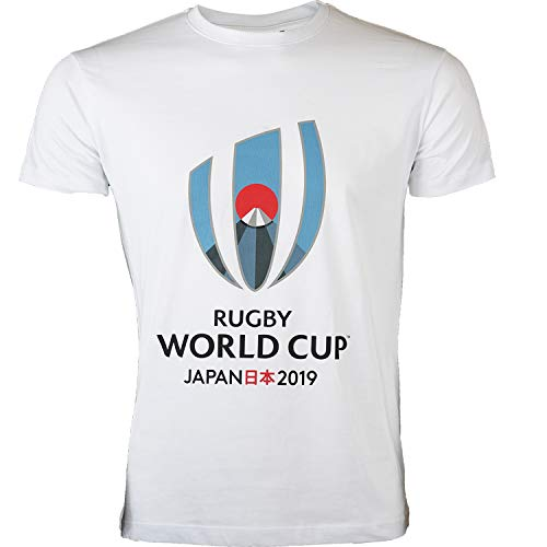 T-Shirt Rugby World Cup 2019, offizielle Kollektion Rugby World Cup XL weiß