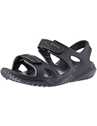Crocs Swiftwater River Men Sandal in Black