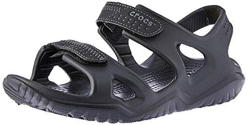 Crocs swiftwater river, sandali alla schiava uomo, nero (black), 42/43 eu