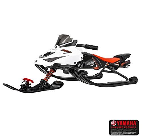 Yamaha FX Nytro Lenkschlitten mit Bremse und Lenkrad Schlitten Ski Bob Rodel Kinderschlitten Kinder Skibob