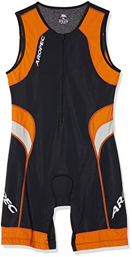 Aropec Lion - Lycra sports suit for men (with UV 50 + FPS, for running, triathlon, swimming, cycling, size XL)