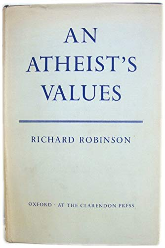 Atheist's Values