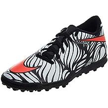 (Renewed) Nike Men's Hypervenom Phelon Ii NJR Tf Style 820129 061 7 M US Black/Bright Crimson-White