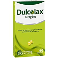 Dulcolax Dragées, 40 St. Tabletten preisvergleich bei billige-tabletten.eu