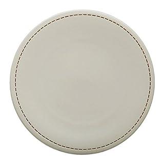 Avet Spain Set Of Dinner Plates, Stoneware 27.5x27.5x2.57 cm cream