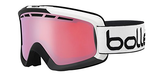 bollé Erwachsene Skibrille Nova Ii Matte Black/Grey Vermillon Gun Red Gradient, Medium/Large