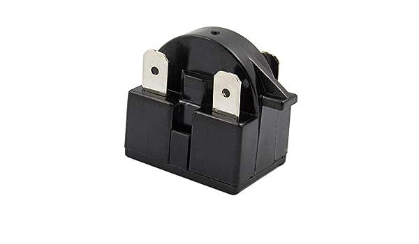 3Pin Startrelais Relais PTC Anlasser QP2-4.7 4.7 Ohm Für Kompressor Kühlschrank