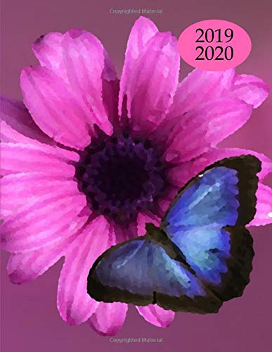 2019 2020 15 Months Butterfly Daily Planner: Academic Hourly Organizer In 15 Minute Interval; Appointment Calendar With Address Book, Password Log & ... Oct 2019 To Dec 2020 With Julian Dates (Zen In Office)