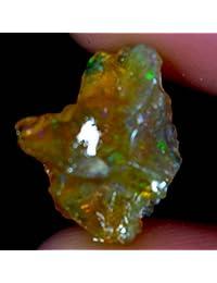 03.05cts. 100% natural etíope multicolor fuego Opal Facet Rough espécimen Gemstone