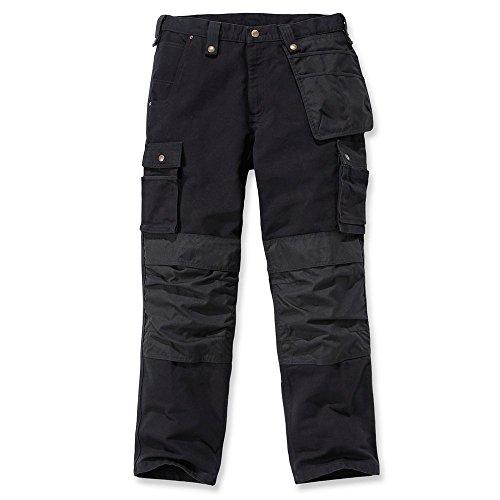Preisvergleich Produktbild Carhartt Multi Pocket Washed Duck Hose 32 Schwarz L34