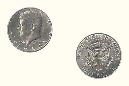 Stück 1 Dollar Adler (jeweils)