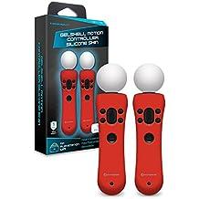 Hyperkin - Gelshell Controller Piel de silicona para PS VR/ PS Move/ PS4 (Rojo) (2-Pack)