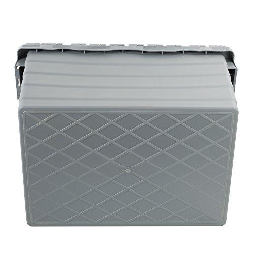 Mehrwegbehälter 600x400x320, mit Klappdeckel, 60 Liter - 2