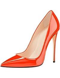 elashe- Scarpe da Donna - 12CM Scarpe col Tacco High Heel Pumps- Classiche  Scarpe eabbd5a01d7