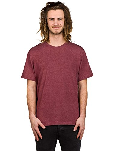 Element Basic Crew Neck T-Shirt oxblood heather