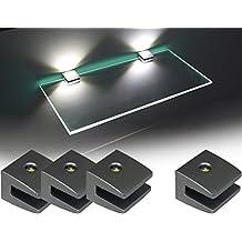 suchergebnis auf f r led glasregal. Black Bedroom Furniture Sets. Home Design Ideas