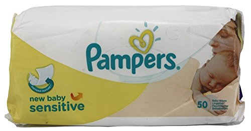Pampers New Baby Sensitive Baby Wipes50 per pack