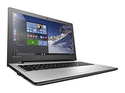 "Lenovo Ideapad 300-15ISK - Portátil de 15.6"" (Intel Core i7 6500U, 16 GB de RAM, Disco HDD de 1 TB, AMD Mobility Radeon R5 M330 con 2 GB, Windows 10), plateado -Teclado QWERTY Español"