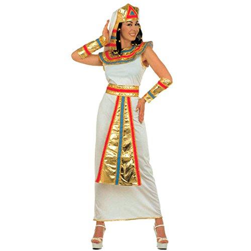 gypterin Damenkostüm L 42/44 Cleopatra Gewand Pharaonin Fasching Ägypten Königin Faschingskostüm Ägyptische Göttin Kleid Karnevalskostüm Antike Mottoparty Verkleidung Karneval Kostüme Damen (Cleopatra Kleider)