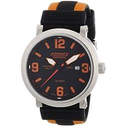 Formex 4 Speed Men's Quartz Watch TS725 72512.1020 with Rubber Strap
