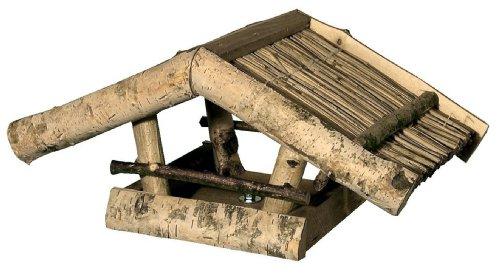 House-Gard 023B Mangeoire ouverte en bois de bouleau 39 x 24 x 19 cm