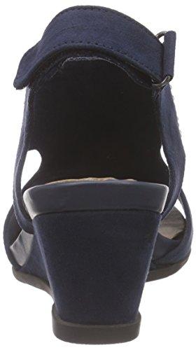 Jana - 28701, Sandali con tacco Donna Blu (Blu (Navy 805))