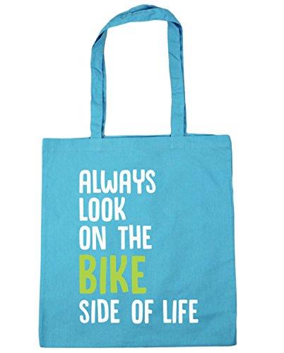 hippowarehouse-bolsa-de-playa-de-algodn-mujer-turquesa-azul-surf-blue-talla-nica