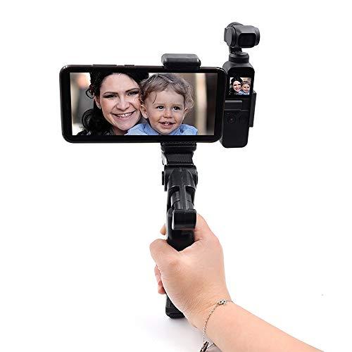 YuanCheng Fernbedienung Spielzeugteile Handyhalter, Stativmontageadapter, drehbarer Digitalkamerahalter, Selbstauslöser-Einbeinstativ, verstellbare Halterung Pocket-video-sender
