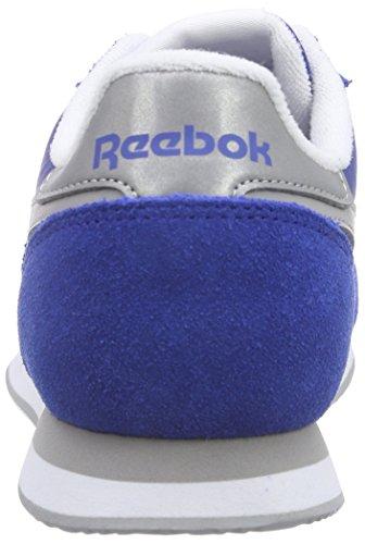 Uomo Scarpe Gray Heather Medium Pr Solido Blau Corsa collegiale Bianco Da Reale Le Reale Reebok Blu Cljogger Grigio Argento SxwqBYS