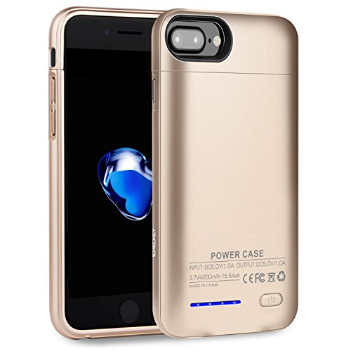 coque iphone 7 plus rechargeable