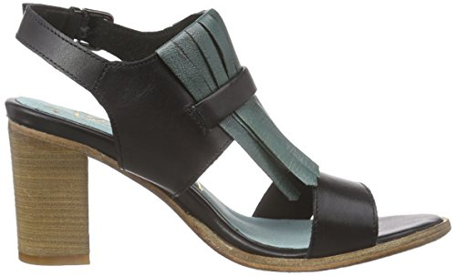 xyxyx - Pumps, Sandali Donna Nero (Schwarz (black/pewter))