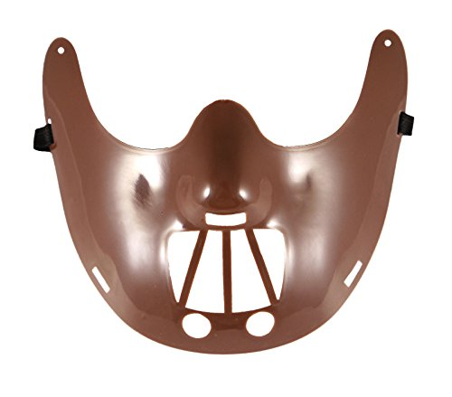 Halloween Hannibal Lecter Kunststoff Maske & Cape Scary Party Outfit