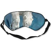 Sleep Eyes Masks Polar Bear Pattern Sleeping Mask For Travelling, Night Noon Nap, Mediation Or Yoga preisvergleich bei billige-tabletten.eu