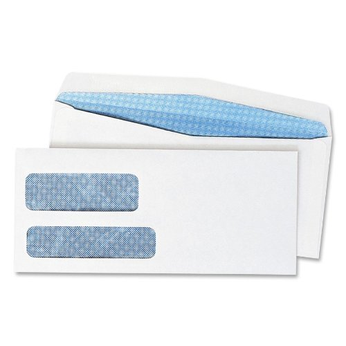 Preisvergleich Produktbild Quality Park No. 10 Double-Window Envelopes, 500/bx by Quality Park