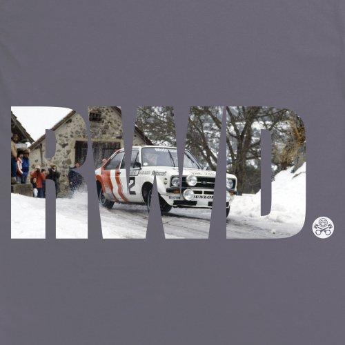 PistonHeads RWD T-Shirt, Damen Anthrazit