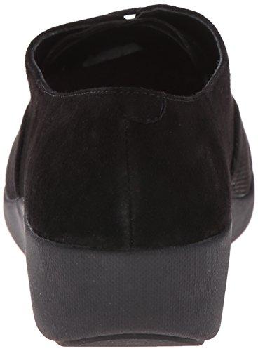 FitFlop F-Pop Opul, Chaussures à Lacets Femme Noir (Black)