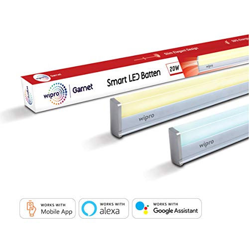 Wipro Next 20W Smart LED Batten (Compatible with Amazon Alexa & Google Assistant)