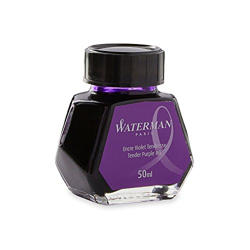 Waterman S0110750 Füllfederhaltertinte im 50 ml Tintenfass tender purple