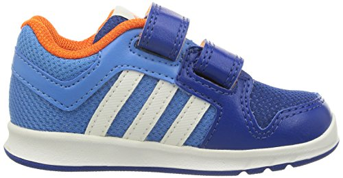 adidas Unisex, bambini Lk Trainer 6 Cf scarpe sportive Azul Royal / Naranja