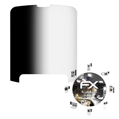 atFolix Blickschutzfilter für Samsung Jack SGH-i637 Blickschutzfolie, 4-Wege Sichtschutz FX Schutzfolie -