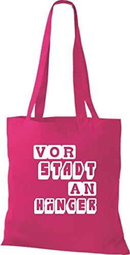 Shirtstown leur die perfekte spielaufstellung» vorstadt en plusieurs couleurs Rose - Fuchsia